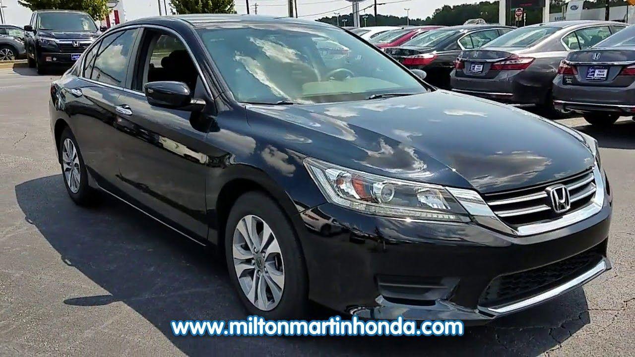 USED 2014 Honda ACCORD 4DR I4 CVT LX at Milton Martin