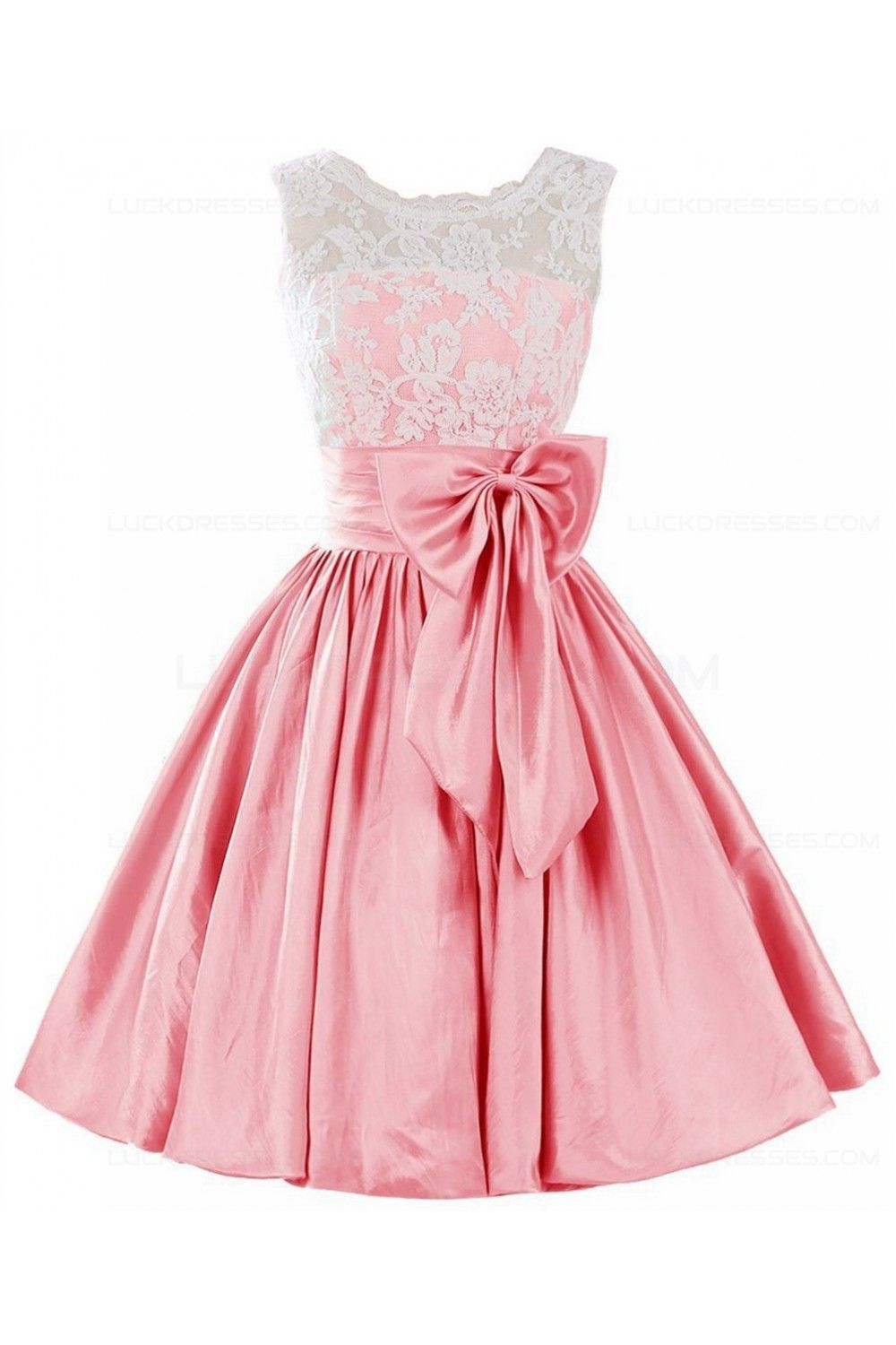 Aline lace short prom dresses party evening gowns