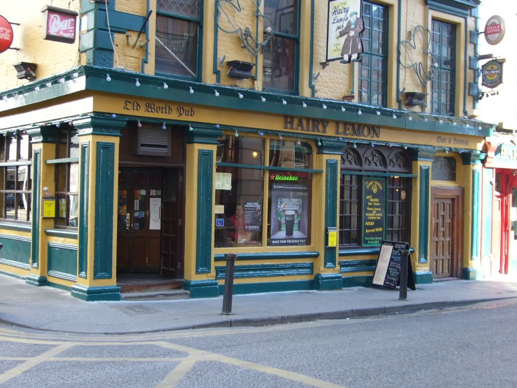The Hairy Lemon pub