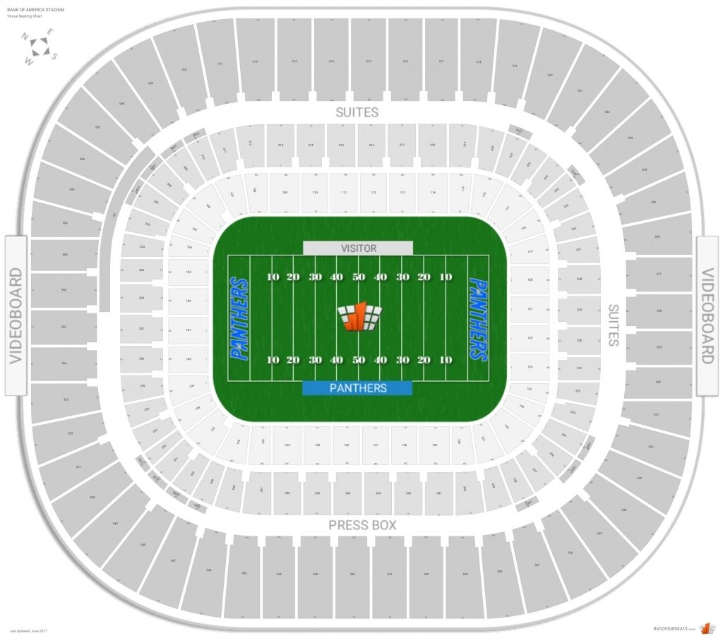 Bank Of America Stadium With Images Bank Of America Stadium Seating Charts Seating
