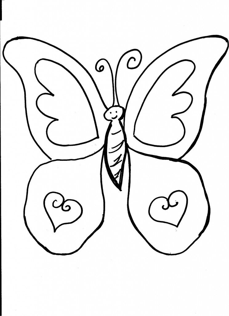 Free Printable Butterfly Coloring Pages For Kids Butterfly Coloring Page Animal Coloring Pages Butterfly Pictures To Color
