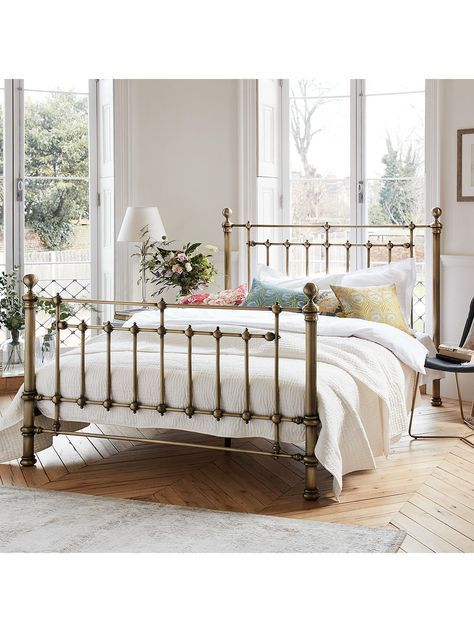 John Lewis Partners Banbury Bed Frame Super King Size Antique