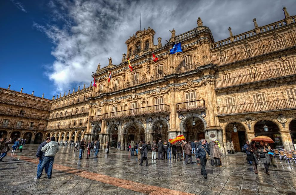 Plaza Mayor, Salamanca (Spain)