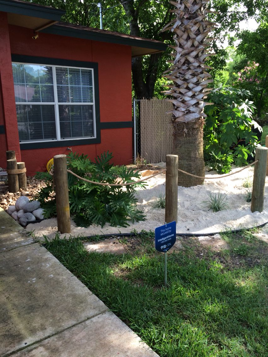 Beach Themed Front Yard Front Yard Landscaping Design Modern Landscape Design Fr In 2021 Modern Landscape Design Front Yard Front Yard Landscaping Design Front Yard Shore house backyard ideas