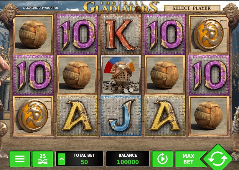 Football Gladiators Slot Machine