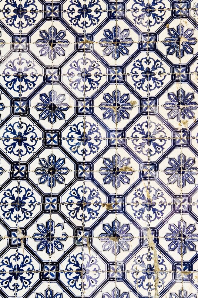 Neapolitan Tiles From A Market South Of Rome