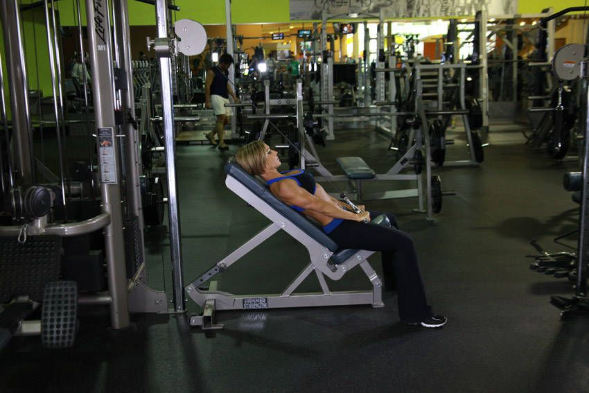 Cable Incline Pushdown | Exercises | Pinterest | Exercises, Cable ...