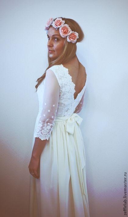 Венчальное платье – купить на Ярмарке Мастеров – 3S181RU ...
