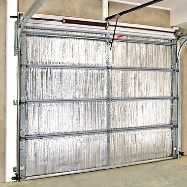 Garage Door Insulation Helps To Reduce Winter And Summer Energy