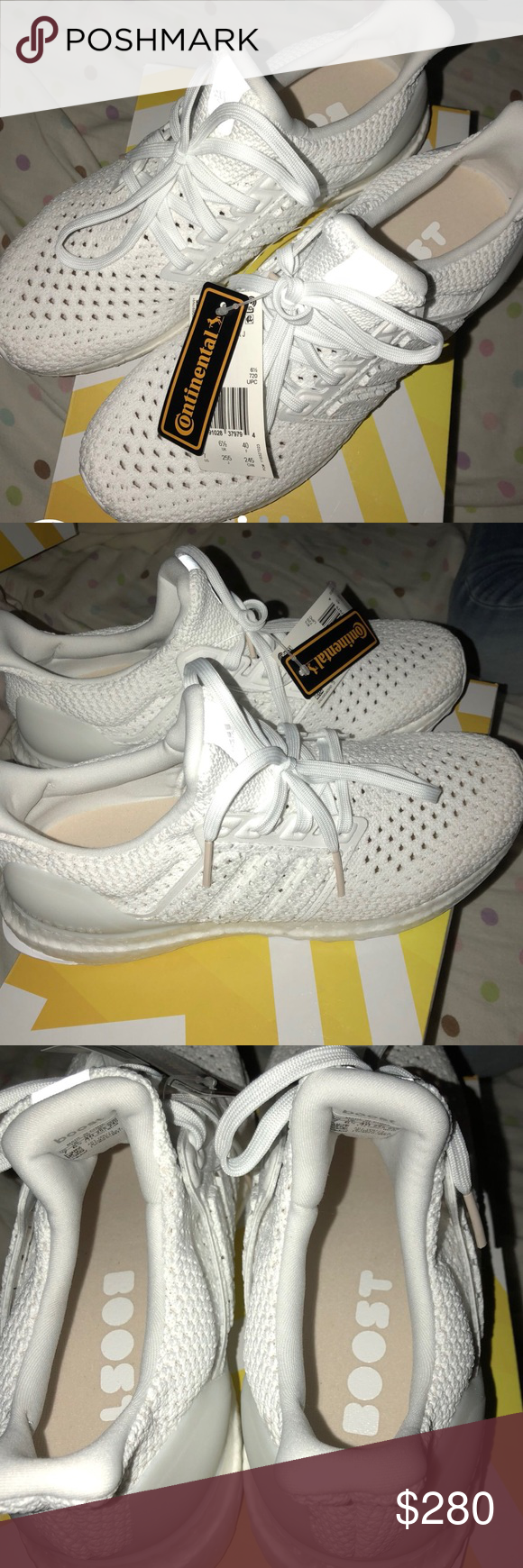 f877674a0e09 Adidas ultraBOOST clima j Size 7 kids ( fits women s 8.5 or 7 men ) Never  worn with tags adidas Shoes Athletic Shoes