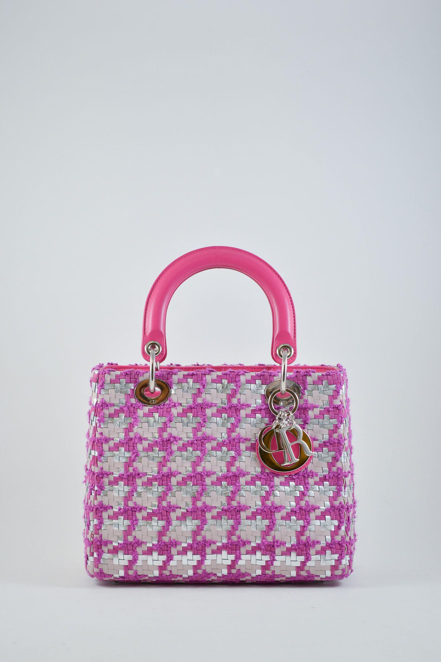 c03fb886d9e Christian Dior pink tweed medium