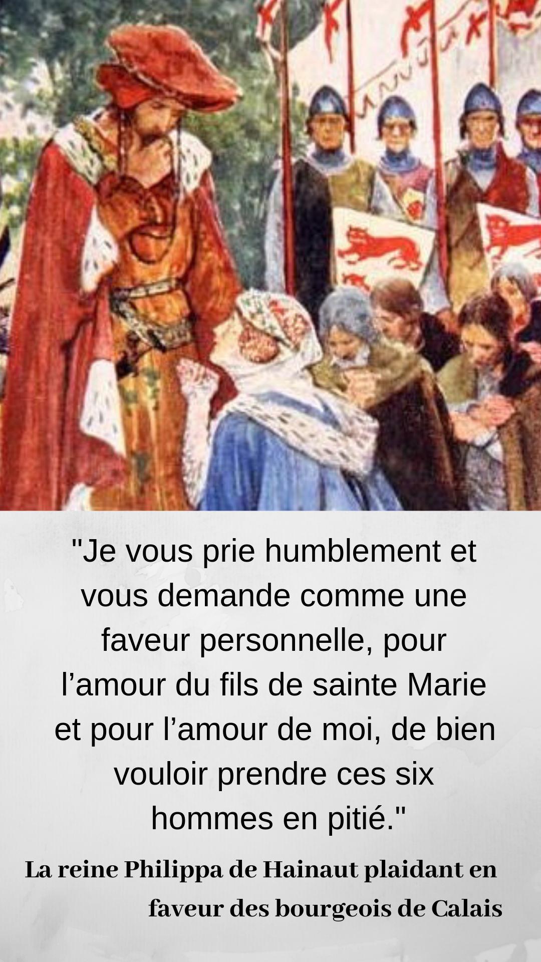 7 Octobre 1337 Debut De La Guerre De Cent Ans Guerre De Cent Ans Guerre Les Bourgeois De Calais