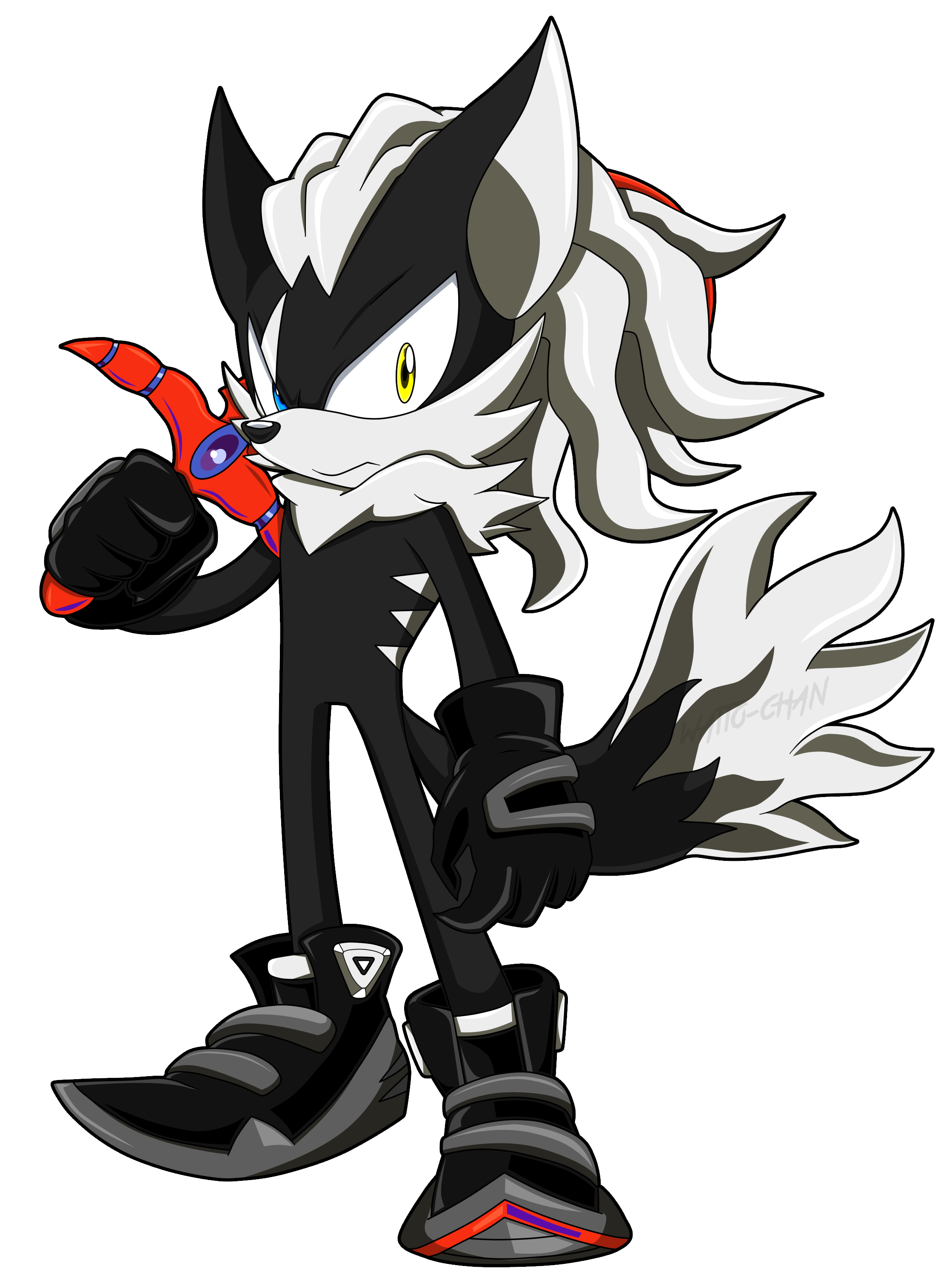 Infinite The Jackal By Waitochan On Deviantart Sonic Fan Characters Sonic The Hedgehog Sonic