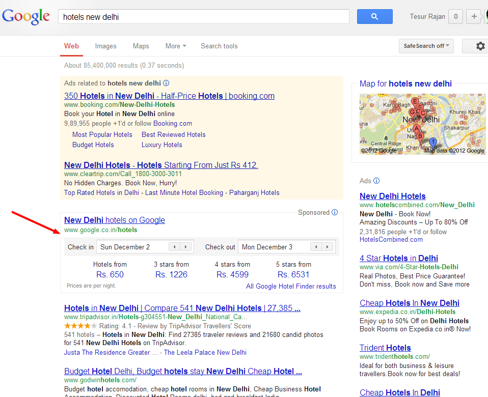 Are Your Searching For #Hotel? Try Google Hotel Finder.