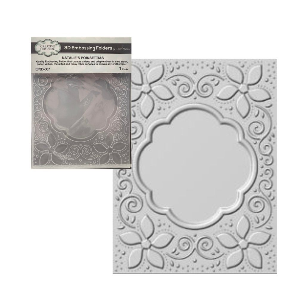 Folders .. Dandelion Flower to die for Embossing Folder template