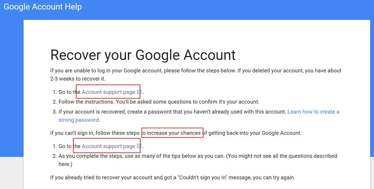 To Make Sure You Can Get Back To Google Account If You Ever Cannot