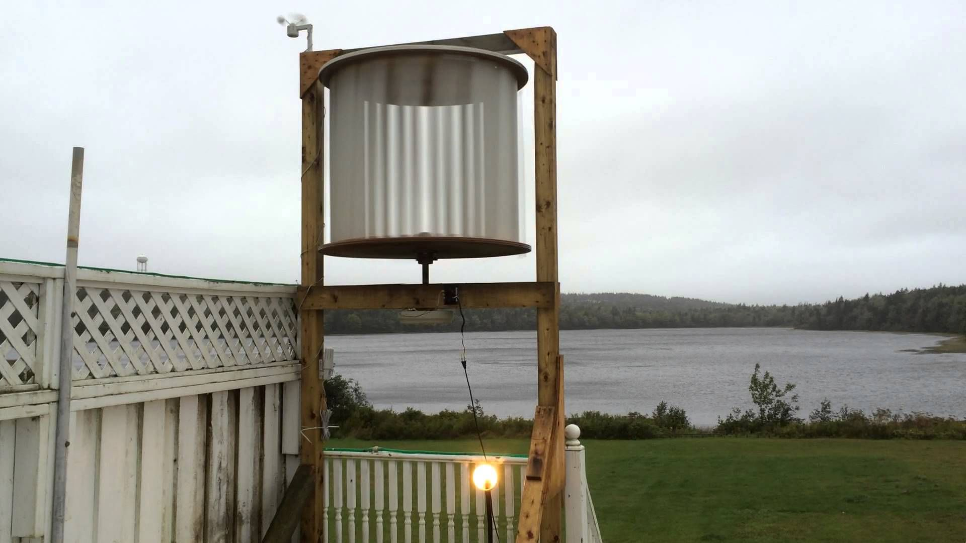 Homemade vertical axis wind turbine design submitted ...