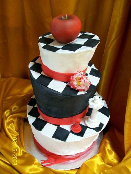 twilight book cover cake