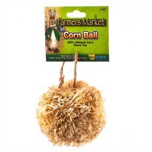 Ware Manufacturing Natural Corn Leaf Ball Toy for Small Pets, Large -- Check this awesome product by going to the link at the image.