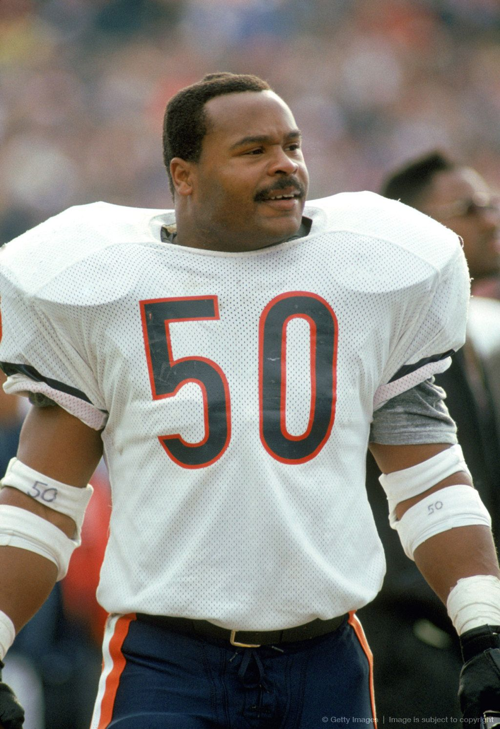 Chicago Bears Mike Singletary 50 Linebacker One Of The