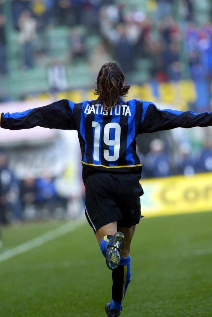 Gabriel omar batistuta 2003 grande internazionale football soccer soccer players - Canomar madrid ...