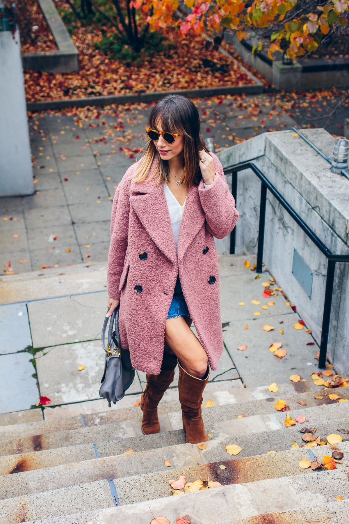 10 Stunning Pink Coats Under 180 Pink Coat Outfit Winter Coat Outfits Pink Coat Outfit Winter [ 1800 x 1200 Pixel ]
