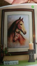 Mother Horse Western Framed Aer Home Interiors Homco Vintage House House Interior