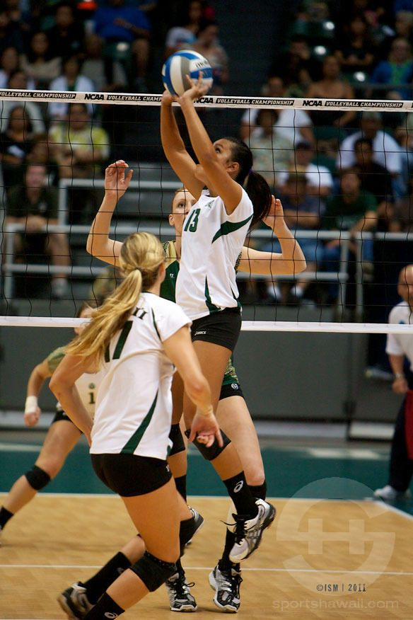 A pic of me hitting (I'm an outside hitter, middle hitter, or setter) |  Volleyball | Pinterest | Volleyball and Beach volleyball