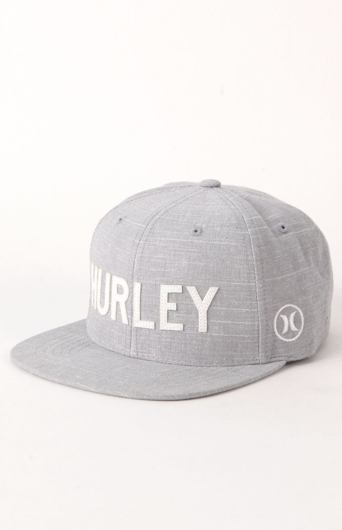 616cd3871e606 Hurley Strike Snapback Hat