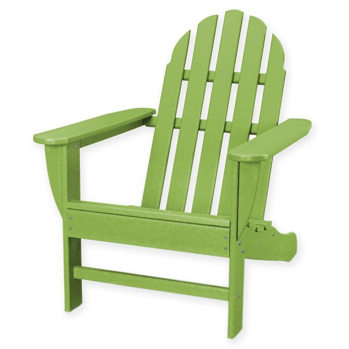 Enjoyable Polywood Classic Adirondack Chair Bed Bath Beyond New Ibusinesslaw Wood Chair Design Ideas Ibusinesslaworg
