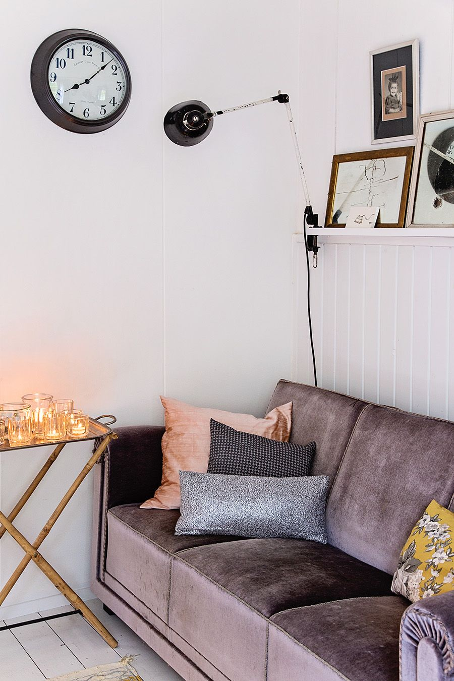 Love this, feels warm and cosy. Yet, pared back and simple