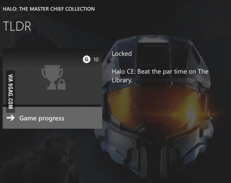 Master Chief Collection Has A Great Achievement Name For