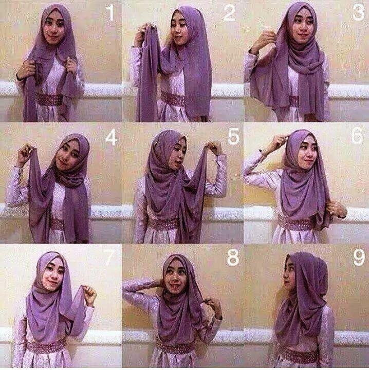 Tutorial Hijab Pashmina Terbaru Untuk Pesta Tutorial Hijab Pashmina Hijab Gaya Hijab