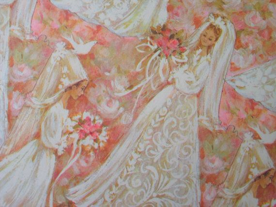 Vintage Gift Wrapping Paper  / Wedding Paper / by AprilsLuxuries, $5.00
