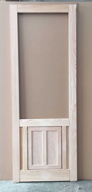 Diy Exterior Dutch Door Dutch Door W Dog Entrance I Love The Clear Glass Window Pane
