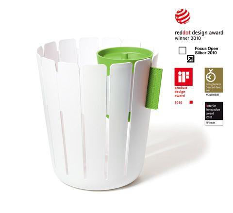 ingenious home recycling bin ideas. recycling basketbin ks1  Ingenious bin And it looks good too