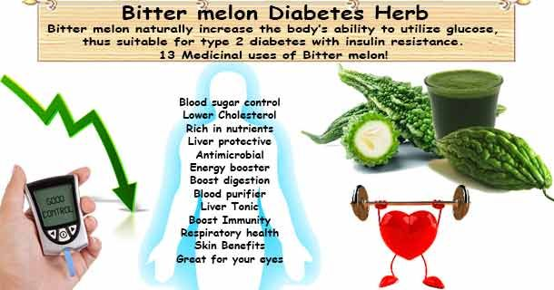 how to take bitter melon for diabetes