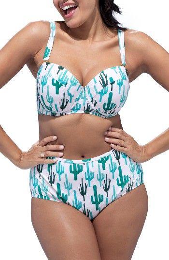 18069cc1af6a5 Plus Size GabiFresh Milestone Bikini Swimsuit