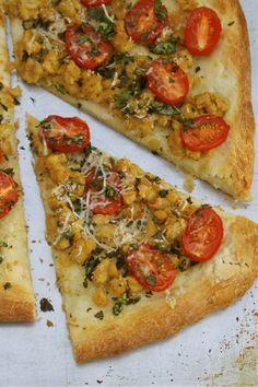 Homemade Tuscany Pizza - Veganize