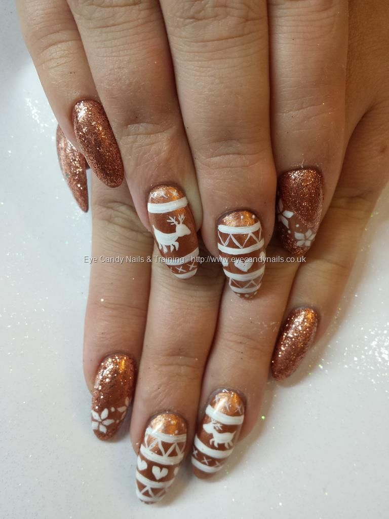 Salon Nail Art Photo By Elaine Moore@ eye candy. | Christmas jumpers ...