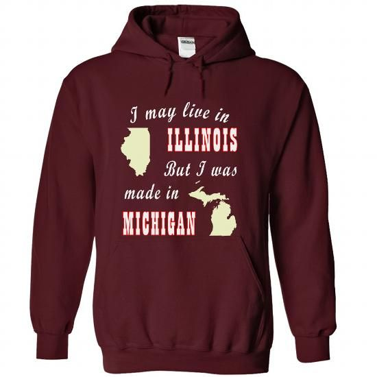 IL-MI - #hipster tshirt #hoodie womens. LOWEST PRICE => https://www.sunfrog.com/LifeStyle/IL-MI-2684-Maroon-Hoodie.html?68278