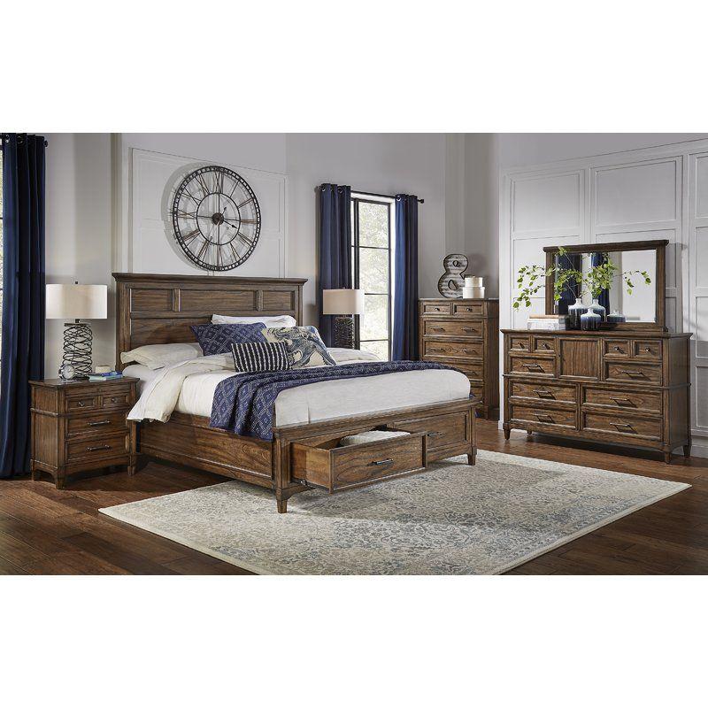 Alcott Hill Minixside Storage Platform Configurable Bedroom Set Wayfair Cheap Bedroom Furniture Bedroom Sets Bedroom Set