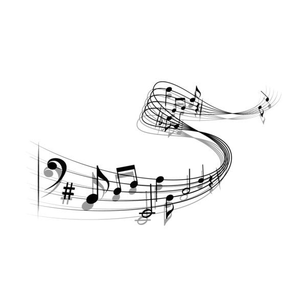 Music Notes Vector Png Liked On Polyvore Featuring Music Fillers Backgrounds Effects And Extras Zeichnungen Musik Ausdrucken