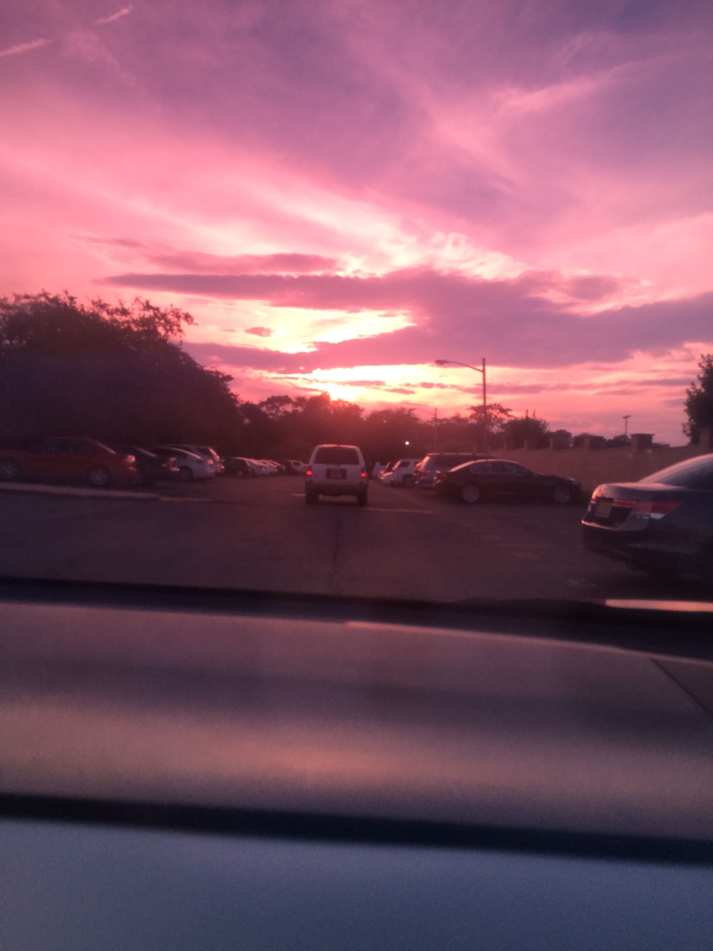 Took this myself on the way back from the pool