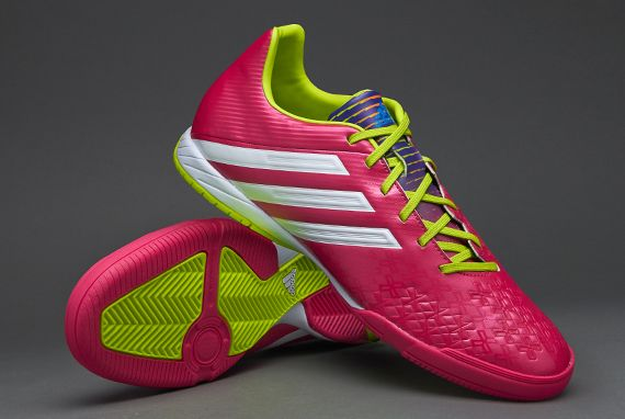 huge discount f216d 88b82 adidas Football Boots - adidas Predator Absolado LZ Indoor - Soccer Cleats  - Vivid Berry-Running White-Solar Slime
