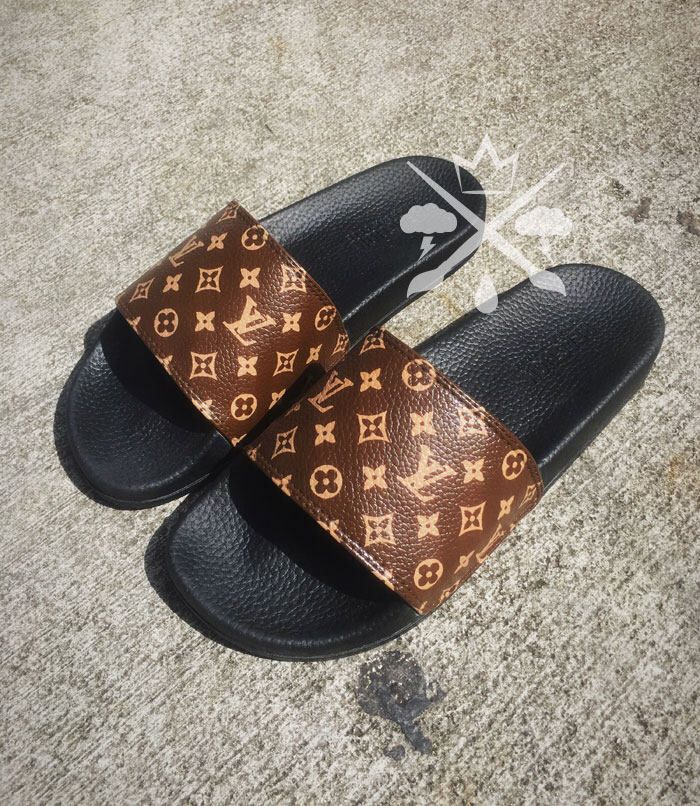 545ba64670b Etsy    Your place to buy and sell all things handmade. Louis Vuitton  Slides