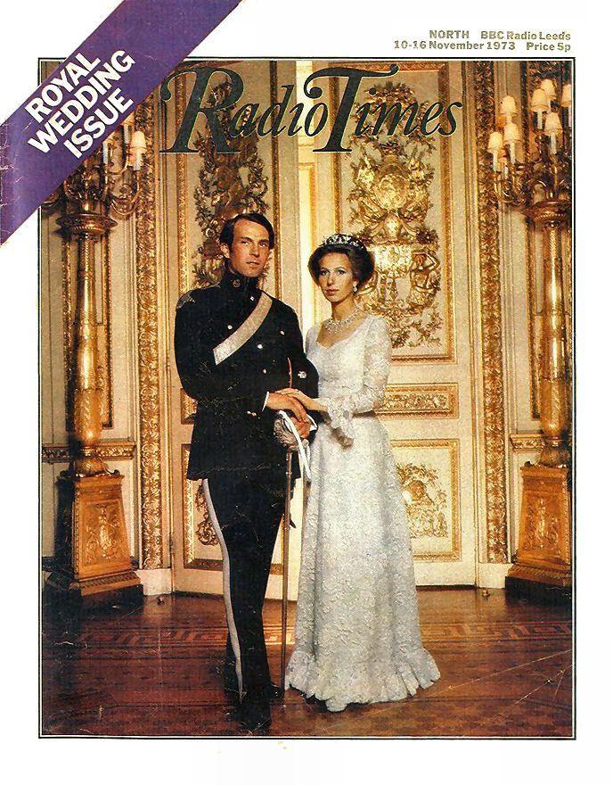 Radio Times Cover 1973-11-10 Princess Anne Royal Wedding ...