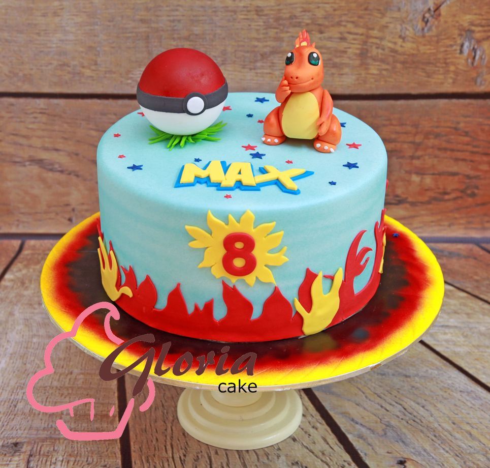 charmander cakes pinterest gateau pokemon anniversaires et idee deco. Black Bedroom Furniture Sets. Home Design Ideas