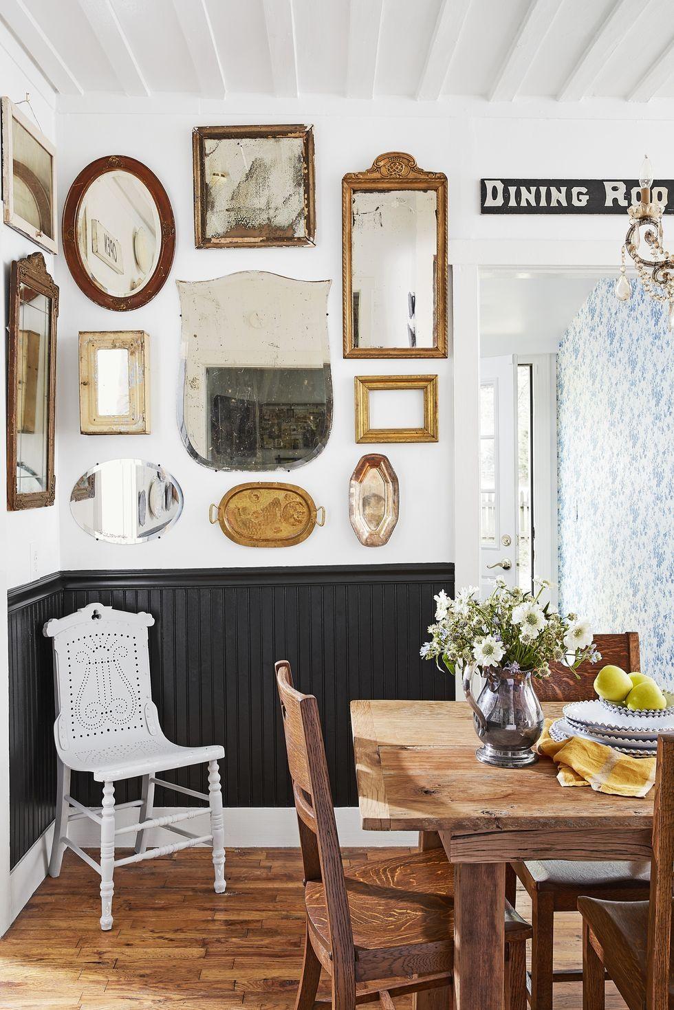 Yemek Odanizi Yeniden Duzenlemek Icin 10 Muhtesem Yol In 2020 Modern Farmhouse Dining Room Farmhouse Dining Room Set Dining Room Style