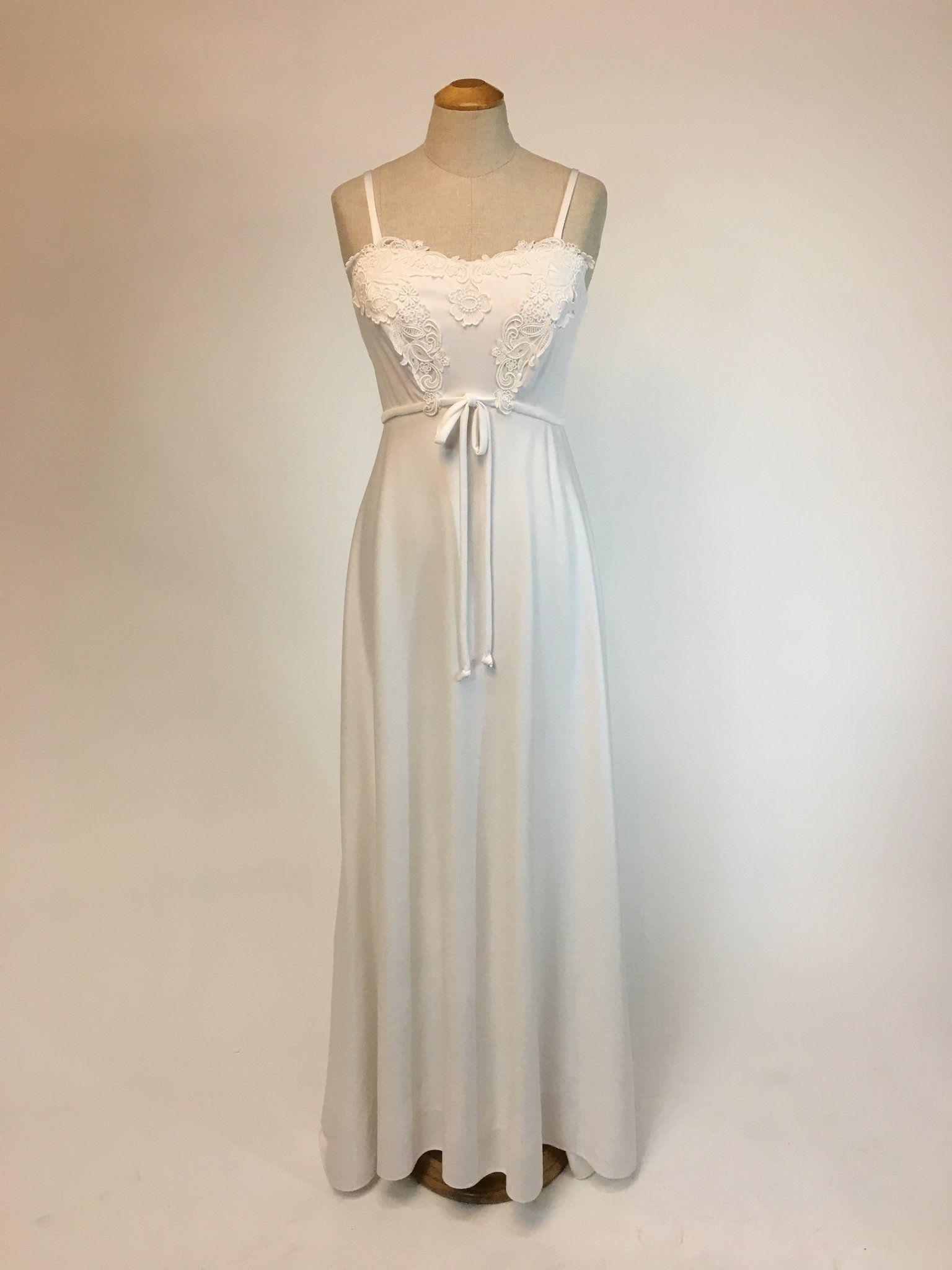 """Bernadette"" 1970s Wedding Dress in 2019 1970s wedding"